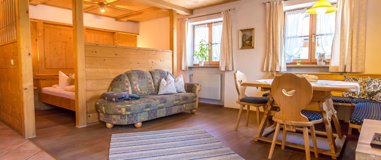 Wohnküche Apartment Brauneck