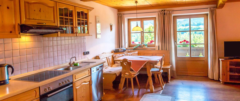 Wohnküche Ferienwohnung Schönberg