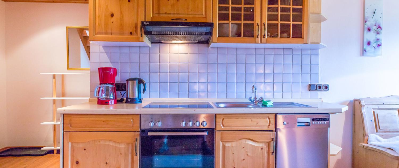 Küche Ferienwohnung Schönberg